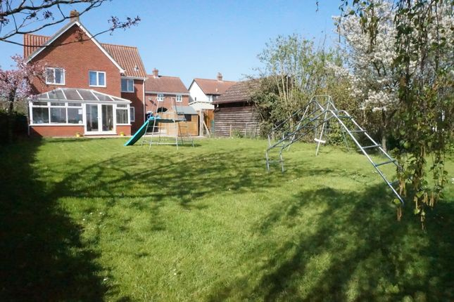 Thumbnail Detached house for sale in Colegate End Road, Pulham Market, Diss