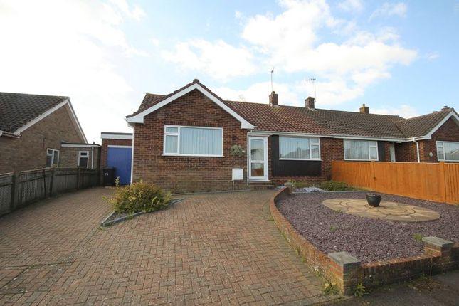 Thumbnail Semi-detached bungalow to rent in Denbeigh Drive, Tonbridge