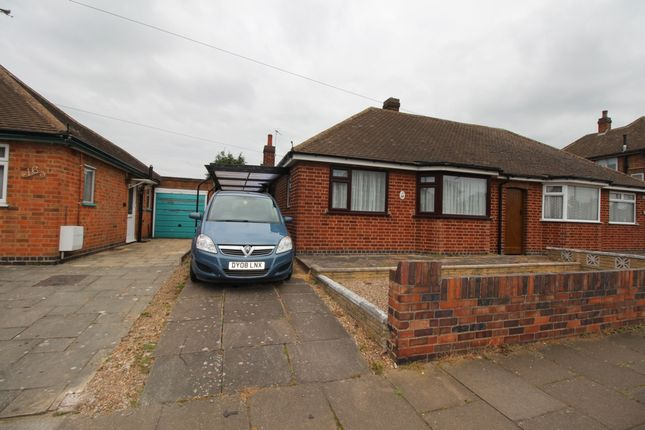 Thumbnail Bungalow to rent in Verdale Avenue, Leicester