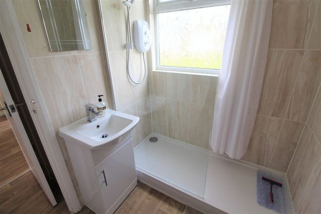 Shower of Edward Road, Winterton-On-Sea, Great Yarmouth NR29
