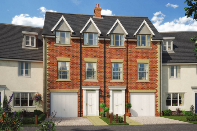 Thumbnail Town house for sale in Colne Gardens, Off Robinson Road, Colchester, Essex