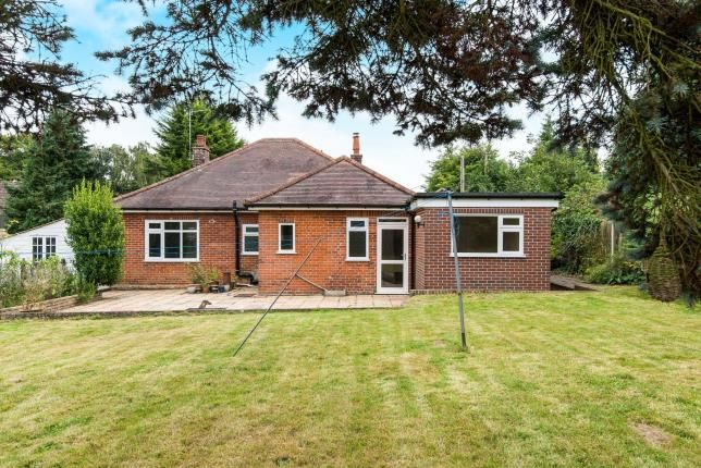 Thumbnail Bungalow for sale in Brundall, Norwich, Norfolk