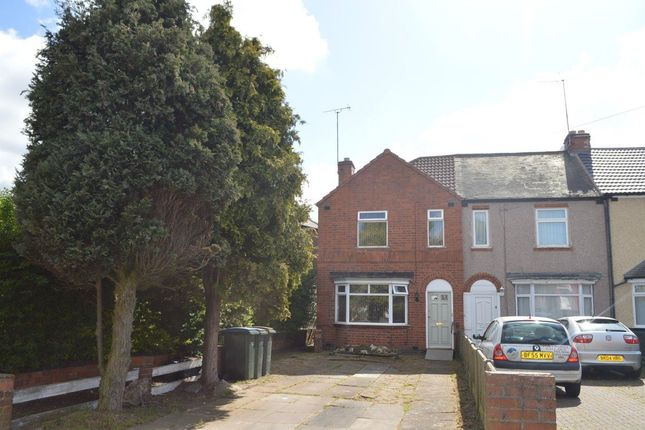 Thumbnail Terraced house to rent in Villa Road, Radford, Coventry