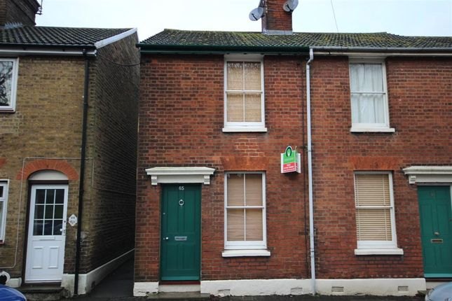 Thumbnail End terrace house to rent in Park Road, Faversham