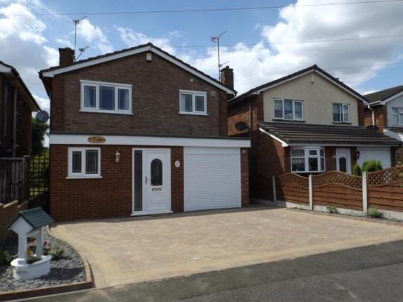 Thumbnail Detached house for sale in Barmouth Close, Willenhall, West Midlands