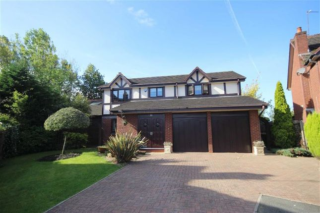 Thumbnail Detached house for sale in Bellpit Close, Ellenbrook, Worsley