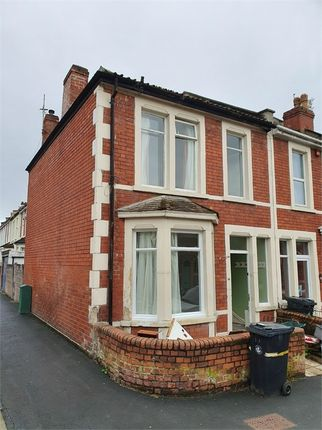 Thumbnail End terrace house to rent in York Road, Easton, Bristol