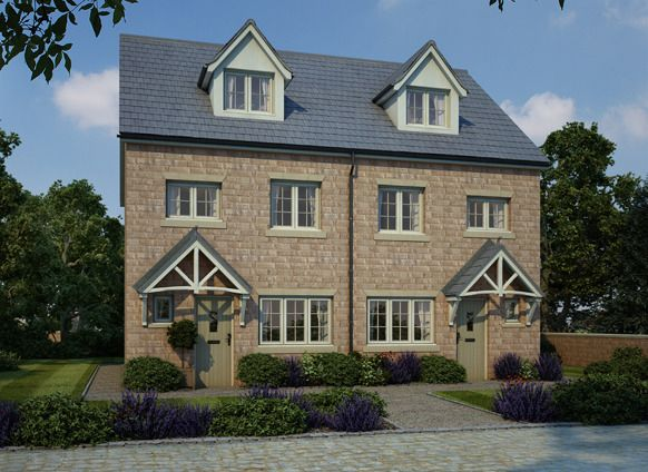 """Thumbnail End terrace house for sale in """"Kenilworth"""" at Mill Square, Horsforth, Leeds"""
