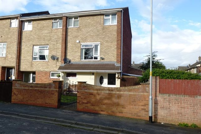 Thumbnail End terrace house for sale in Colne Court, Grantham