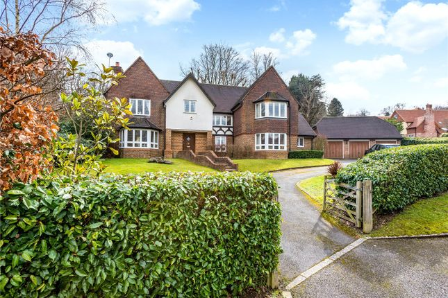 Thumbnail Detached house for sale in Brassey Hill, Oxted, Surrey