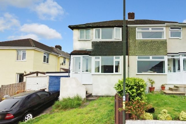Thumbnail Semi-detached house to rent in Wishings Road, Brixham