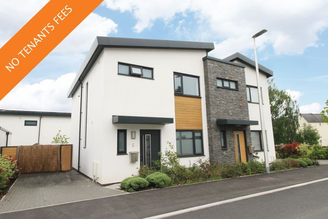Thumbnail Semi-detached house to rent in Newcourt Drive, Exeter