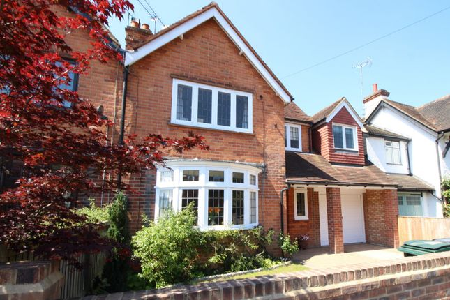 Thumbnail Semi-detached house for sale in Matlock Road, Caversham Heights, Reading