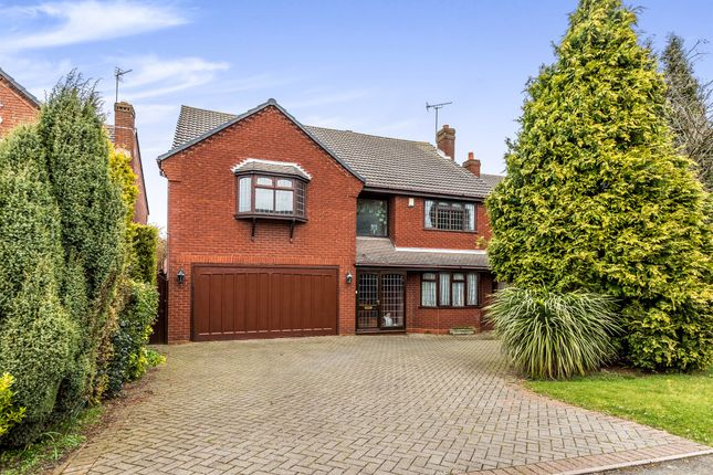 Thumbnail Detached house for sale in Rosewood Park, Cheslyn Hay, Walsall