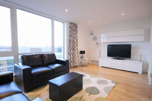 Living Room of Beacon Point, 12 Dowells Street, New Capital Quay, Greenwich SE10