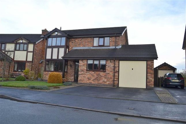 Thumbnail Detached house for sale in The Willows, Leek