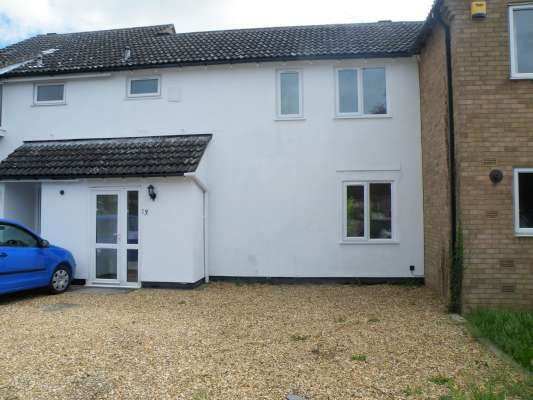 Thumbnail Terraced house to rent in Tantallon Court, Longthorpe, Peterborough