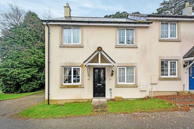 Thumbnail Semi-detached house for sale in College Way, Gloweth, Truro