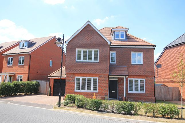 Thumbnail Detached house for sale in Curlew Grove, Blackwater, Camberley