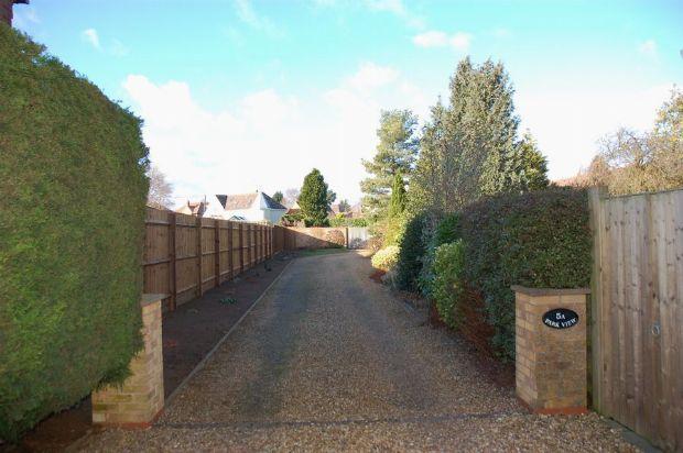 Driveway of Park View, Moulton, Northampton NN3
