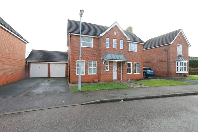 Thumbnail Detached house for sale in Rowan Close, Sutton Coldfield, West Midlands