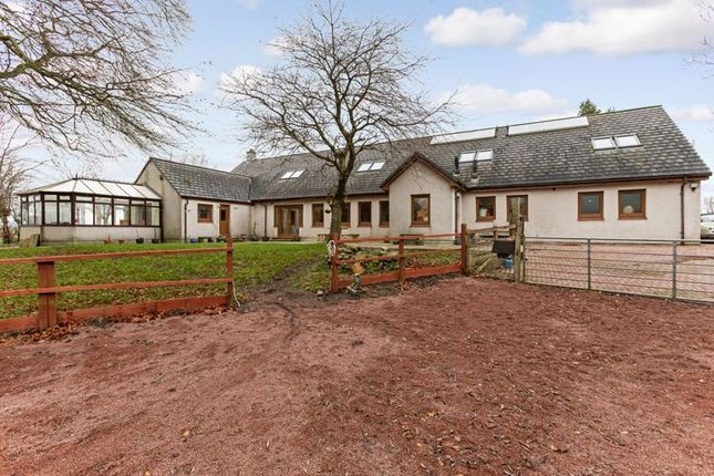 Thumbnail Detached house for sale in Lanark