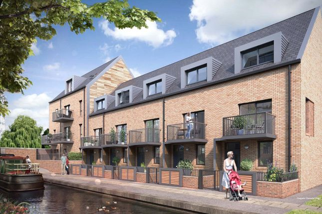 Thumbnail Terraced house for sale in Bow Wharf, 11 Pavers Way