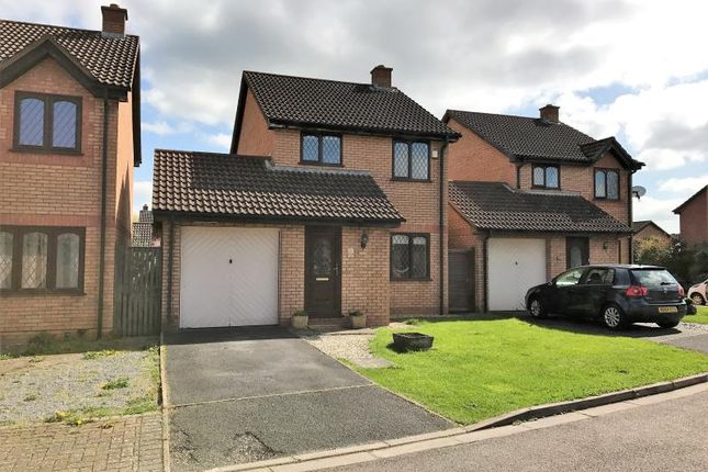 Thumbnail Detached house to rent in Wansbeck Green, Taunton, Somerset
