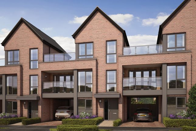 "Thumbnail Property for sale in ""The Birch"" at Atlas Way, Milton Keynes"