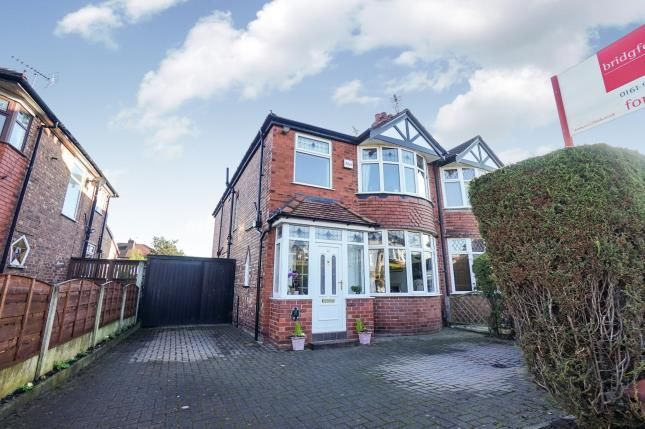 Thumbnail Semi-detached house for sale in Briarlands Avenue, Sale, Trafford, Greater Manchester