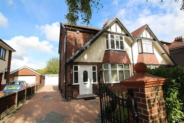 Thumbnail Property to rent in Parklands Drive, Fulwood, Preston
