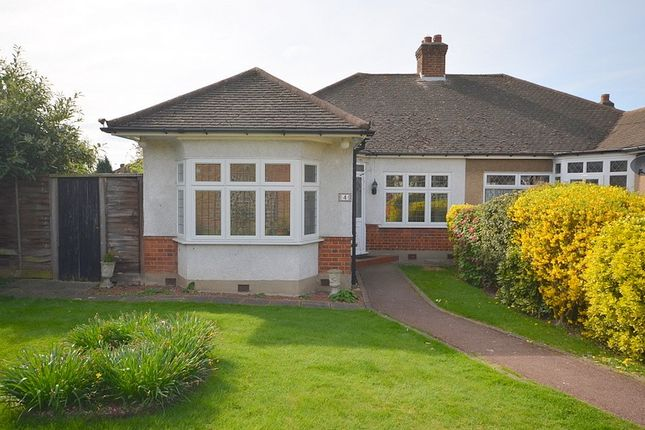 Thumbnail Bungalow to rent in Pine Court, Upminster