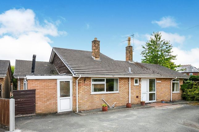 Thumbnail Bungalow for sale in Upper Church Street, Oswestry, Shropshire