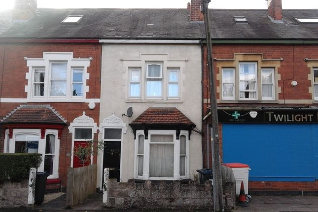 Thumbnail Terraced house to rent in Woodville Road, Kings Heath, Birmingham