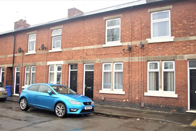 Thumbnail Terraced house to rent in Nathaniel Road, Long Eaton