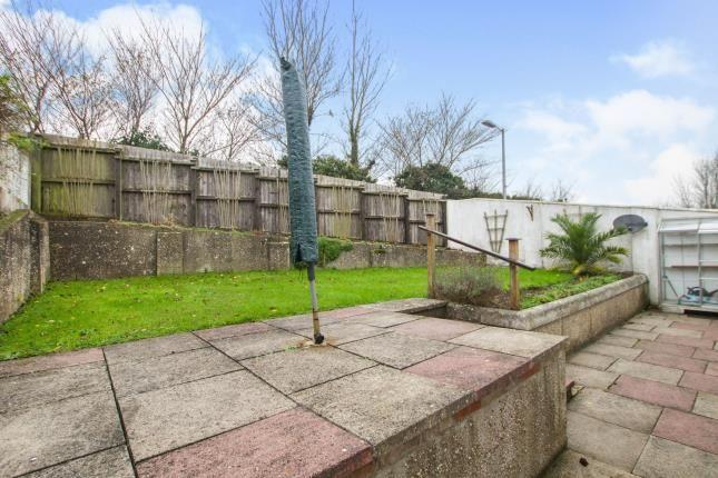 Rear Garden of Tretherras, Newquay, Cornwall TR7