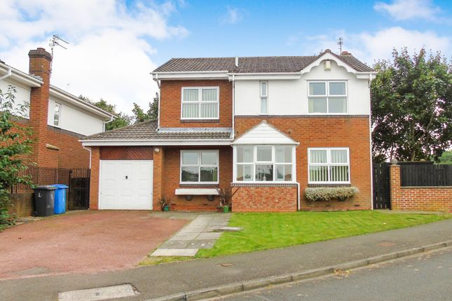 Thumbnail Detached house for sale in Merley Gate, Morpeth