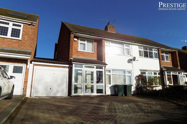 Thumbnail Semi-detached house to rent in Knoll Drive, Coventry, West Midlands