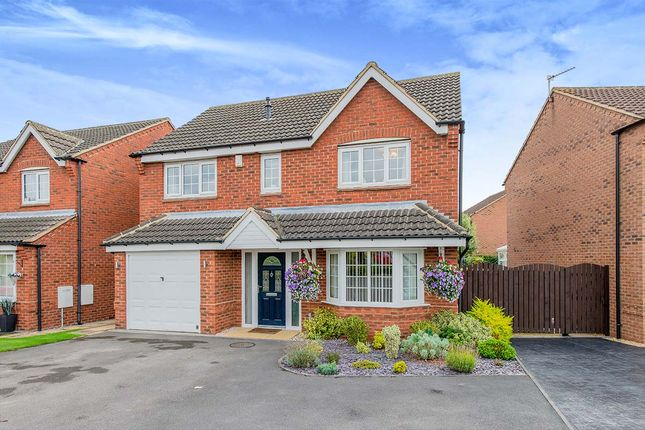 Thumbnail Detached house for sale in Willowbridge Close, Castleford