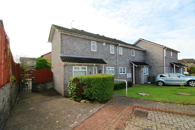 Thumbnail End terrace house for sale in Hibiscus Court, Llantwit Fardre, Pontypridd