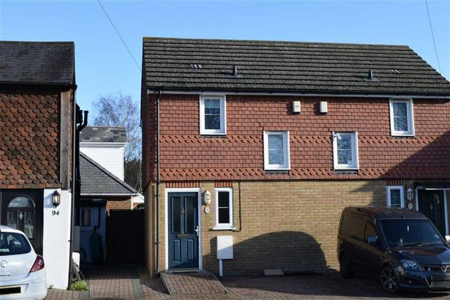 Thumbnail Semi-detached house to rent in London Road, Dunton Green