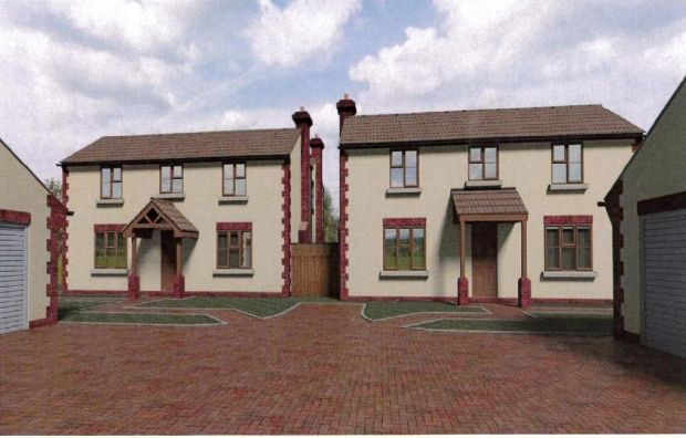 Thumbnail Detached house for sale in Crown Lane, Creech Heathfield, Taunton