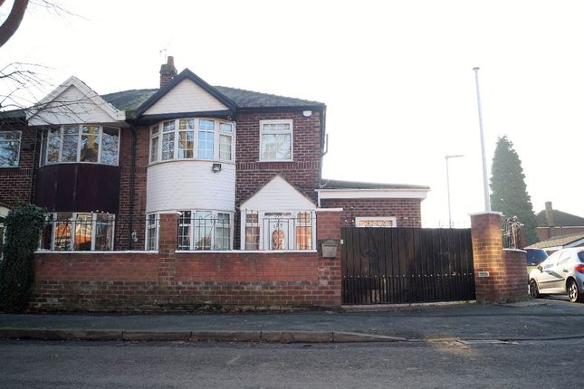 Thumbnail Semi-detached house for sale in Kingsbrook Road, Chorlton Cum Hardy, Manchester