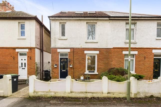 Thumbnail Semi-detached house for sale in Purbrook, Waterlooville, Hampshire