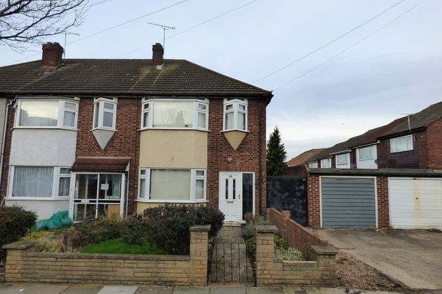 Thumbnail End terrace house for sale in Birkbeck Road, Ilford