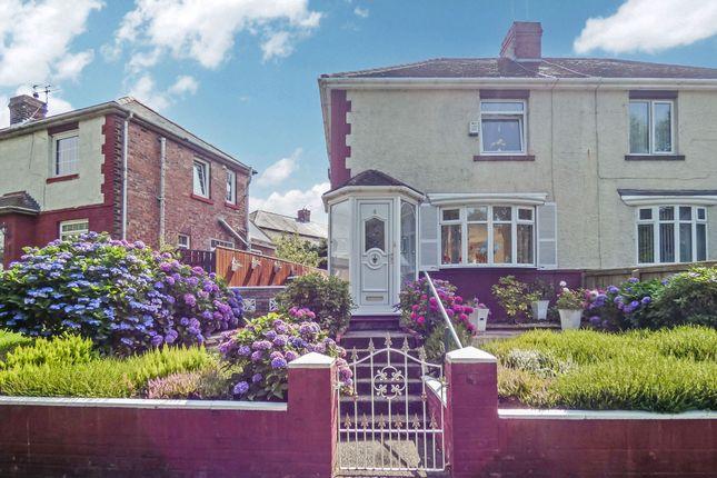 Thumbnail Semi-detached house for sale in Bede Terrace, Jarrow