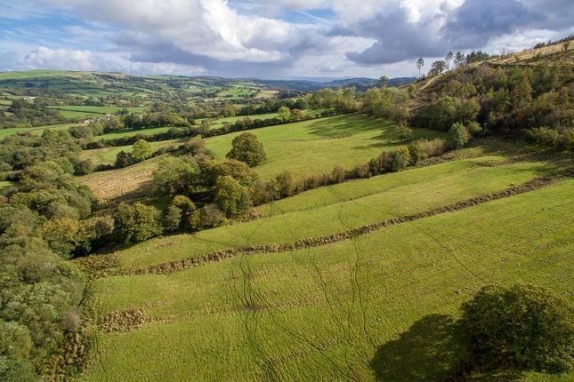 Thumbnail Land for sale in Sennybridge, Brecon