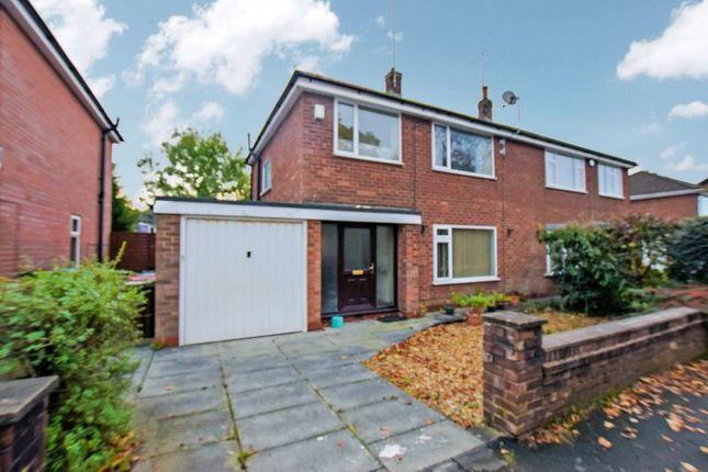 Thumbnail Semi-detached house for sale in Hazelhurst Road, Worsley, Manchester