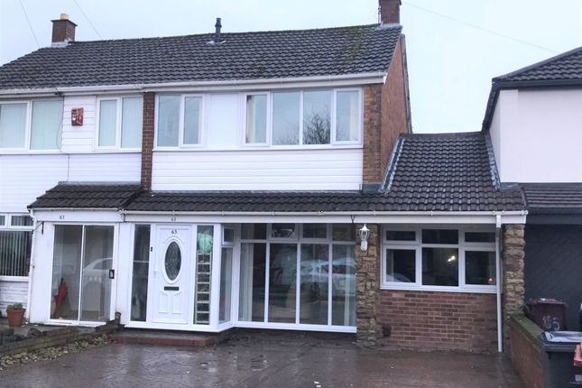 Thumbnail Semi-detached house for sale in Mount Crescent, Kirkby, Liverpool