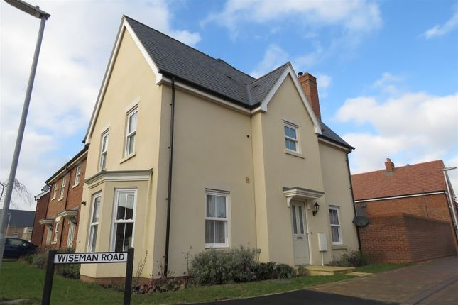 Thumbnail End terrace house for sale in Wiseman Road, Biggleswade